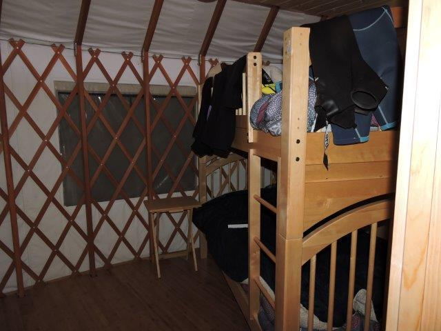 2nd bedroom  Main Yurt