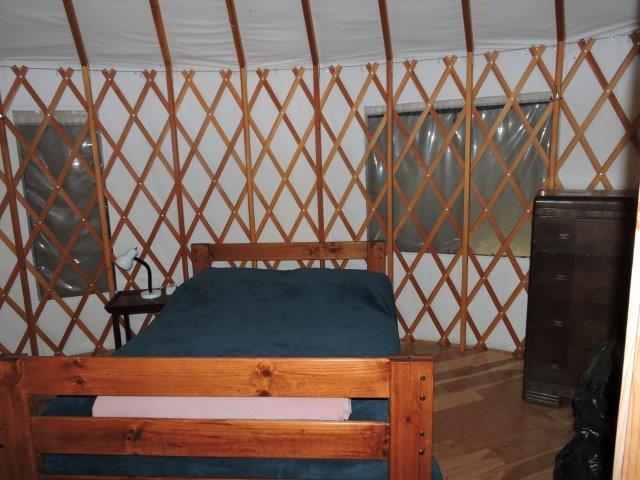 2nd Yurt bedroom